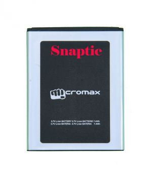 Buy Snaptic Li-ion Polymer Replacement Battery For Micromax Mobile Phones online