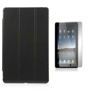 Buy Premium 3 Fold Black Flip Cover For Apple Ipad Mini 3 With Ultra HD Screen Guard online