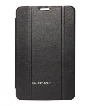 Buy Premium 3 Fold Black Flip Cover For Samsung Galaxy Tab 3 Neo T110/t111 online