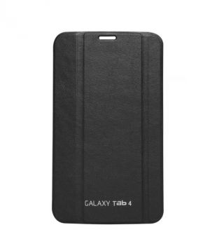 Buy Premium 3 Fold Black Flip Cover For Samsung Galaxy Tab 4 7.0 T230/t231/t235 online