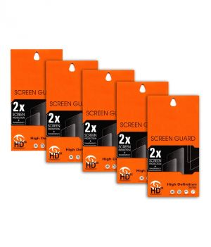 Buy Ultra HD 0.2mm Screen Protector Scratch Guard For Micromax Canvas Ego A113 (set Of 5) online