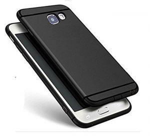 the best attitude 49336 da81c Snaptic Panasonic Eluga Ray Max Anti Skid Soft Silicone Matte Black Back  Cover