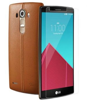 Buy Rudra Traders Tempered Glass Scratchless Screen Protector For LG G4 (product Code - Rudr.224) online