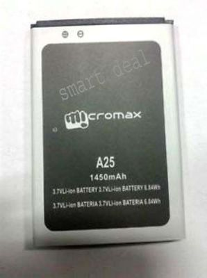 Buy Sell Micromax A25 Smarty Replacement Li Ion Battery online