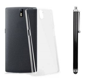 Buy 0.33mm Soft Transparent Back Cover For LG G3 And Stylus Pen Combo online