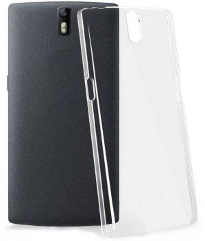 Buy Snaptic 0.33mm Soft Transparent Silicone Cover For Infocus M330 online