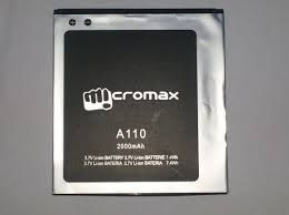 Micromax Mobile Battery For Micromax Canvas 2 A110 Superfone 2000mah