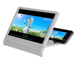 Buy 3d Mobile Phone Screen Magnifier With Stand - Pmgni online