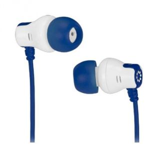 Buy Memorex In Ear Color Stereo Earphones Cb25 (blue) online