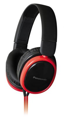 Buy Panasonic Rp-hx250 Red Over-ear Headphones For Ipod/mp3 Player/mobiles online