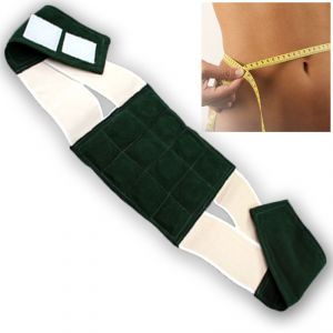 Buy Magnetic Slimming 8 Inch Waist Trimmer Tummy Gym Slim Belt Weight Loss -03 online