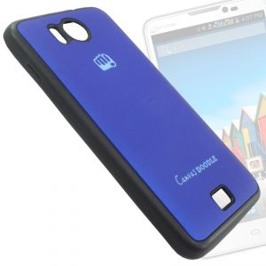 new product e7ccd e0359 Rubberized Soft Back Case Cover Pouch For Micromax Canvas Doodle A111- Bm02