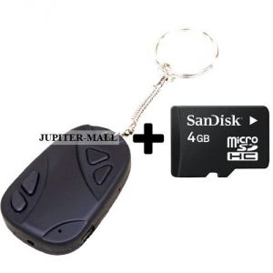 Buy 4GB DVR Video Key Mini Small Spy Hidden Camera online