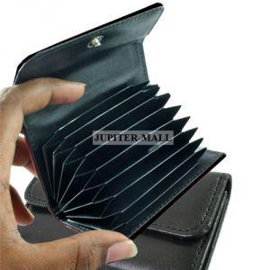 newest df496 65777 8 Pocket Credit Business Card Holder Pouch Case Wallet - 10