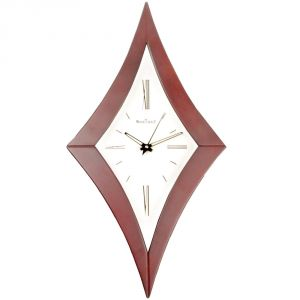 Buy 48cm Vintage Antique Look Wood Crafts Wooden Wall Clock Without Alarm - 116 online