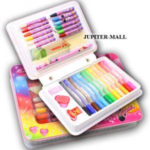 Buy Drawing Art Set Pack Studio Paint Colour Educational Kids Toy ...