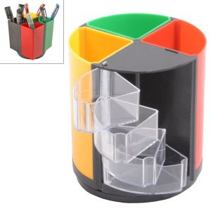 Buy Pen Holder Stand Office Home Table Desk Mini Portable 14