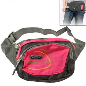 Buy Outdoor Adventure Men's Nylon Multi-pocket Fashion Army Waist Bag - 17 online