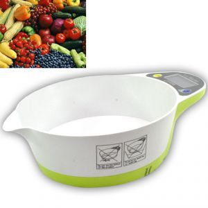 Buy Compact Digital Kitchen Diet Food Weight Weighing Scale 11lb 5kg - 23 online
