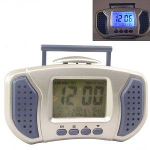 Buy DIGITAL LCD ALARM TABLE DESK CAR Calendar CLOCK with Temperature online