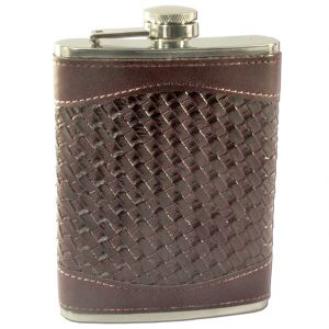 Buy 8oz 240ml Pocket Stainless Steel Hip Flask Bottle Liquor Drink Ware (code - HP Fl 18 A) online