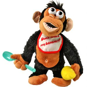 Buy Crying Monkey - Don't take his Banana! -Electronic Stuffed Toy Toys Kids Gift online