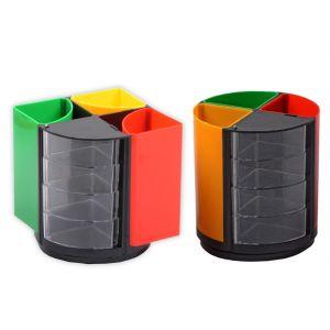 Buy Wooden Pen Holder Stand Office Home Dryer Table Desk Mini