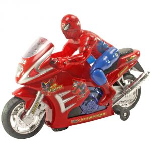 Buy Spider Man Bike Motorcycle Toys Battery Operated Gift Kids Toys