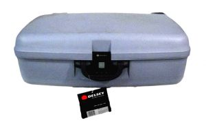 Buy Delsey 4 Wheel Dual Drive Suitcase 78 Cms Delsey Trolley Suitcase online