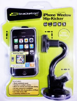Buy Bracketron iPhone Hip-kicker With Windshield Mount online