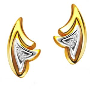 Buy Surat Diamond Diamond Earring Er-151 Er151 online