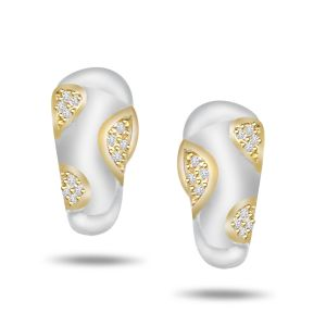 Buy Surat Diamond 0.24ct Diamond 18kt Gold Earring Er294 online