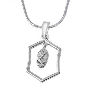 Buy Surat Diamond Sparkling Drop Pendant-(sdp208) online