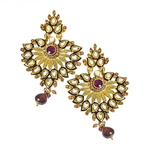 Buy Surat Diamond Adeem Earrings-(pse58) online