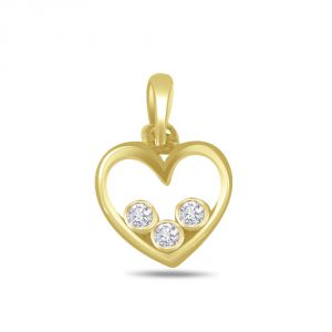 Buy Surat Diamond Dazzling Diamond Solitaire Pendant P401 online