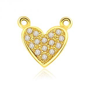 Buy Surat Diamond Heart Galaxy 0.10ct Diamond Pendant P459 online