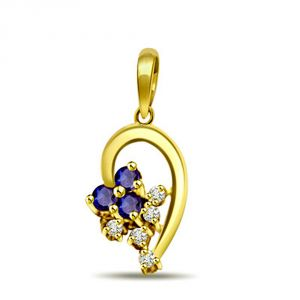 Buy Surat Diamond Sparkling Surprise Pendant P482 online