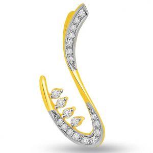 Buy Surat Diamond Trendy 0.22 Cts Diamond Pendant - P686 online
