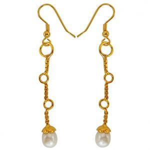 Buy Surat Diamond Fresh Water Pearl Earrings Sds146 online