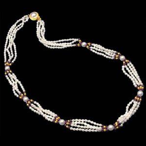 Buy Surat Diamond Pearl Indulgence Necklace Sp251 online
