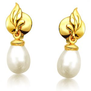 Buy Surat Diamond Blazing Beauty Pearl Earrings Sp382er online