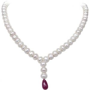 Buy Surat Diamond - Ruby Radiance Pearl Passion - Sn386 online