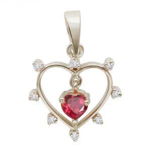 Buy Surat Diamond - Queen Of All Jewels Sterling Silver Pendant -sdp24 online