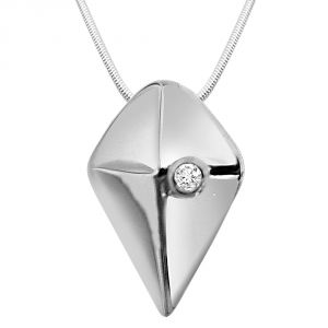 Buy Surat Diamond - Eternal Feel Sterling Silver Pendant -sdp44 online