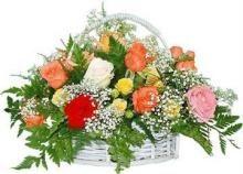 Buy Aqua Flower Basket - Express Delivery online