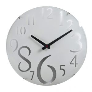 Buy White Beautiful Huge Numeral Wall Clock online