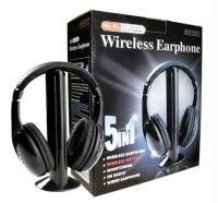 5-in-1 Wireless Headphones With FM Radio from Rediff at Flat 60% Off