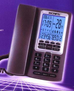 Microtel Branded Jumbo LCD Display Caller ID Phone