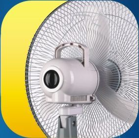 Buy Akari 16 Inch Rechargeable Oscillating Fan With Led Light Ac