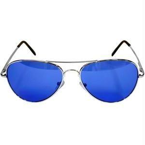 cheap aviator sunglasses online  Buy Retro Blue Aviator Sunglasses Online